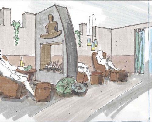 Customer Lounge Design by ArcWest Architects
