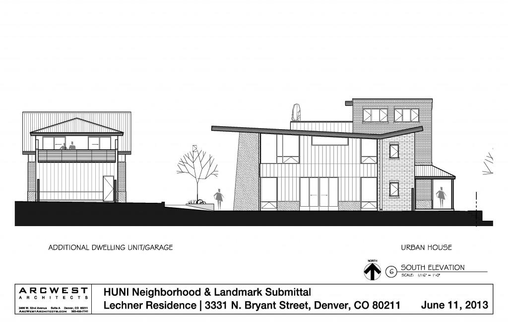 Contemporary residential architecture potter highlands for Denver adu builders
