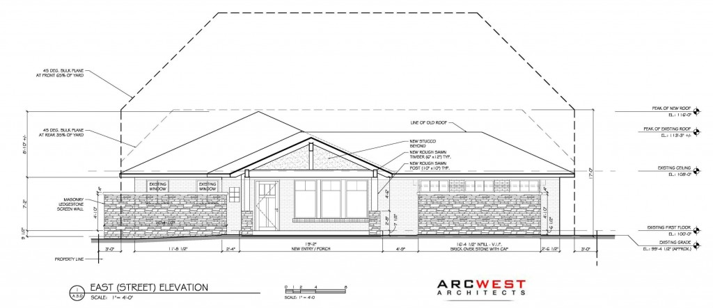 Design projects in for building permits arcwest for Architectural plans and permits