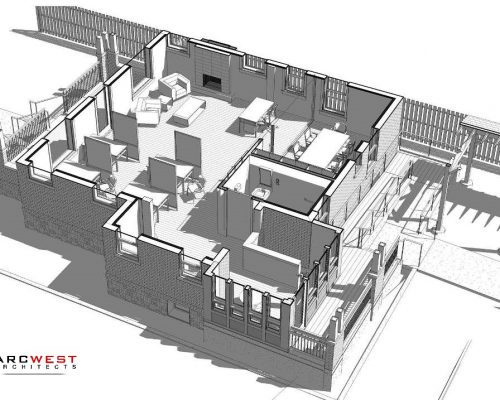 Bradford Real Estate Office Architectural Plan