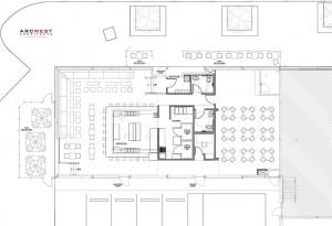 Dada wine bar design arcwest architects denver for Commercial wine bar design ideas