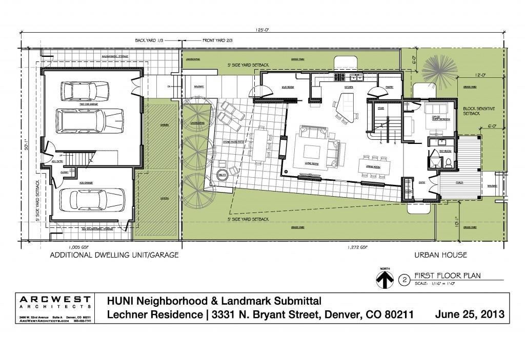 Residential design historic district arcwest for Denver adu builders