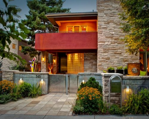 ArcWest Architects St Paul St Cherry Creek Renovation Addition
