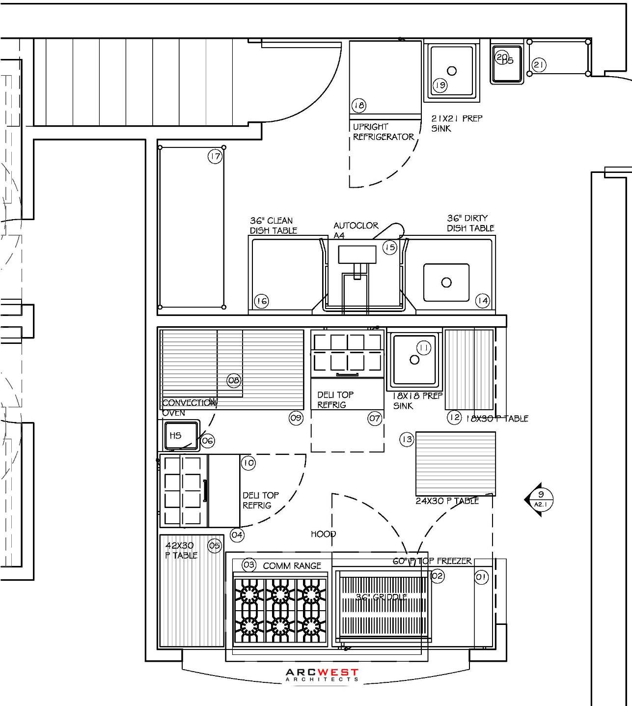 Industrial Kitchen Layout Plan: Commercial Redevelopment