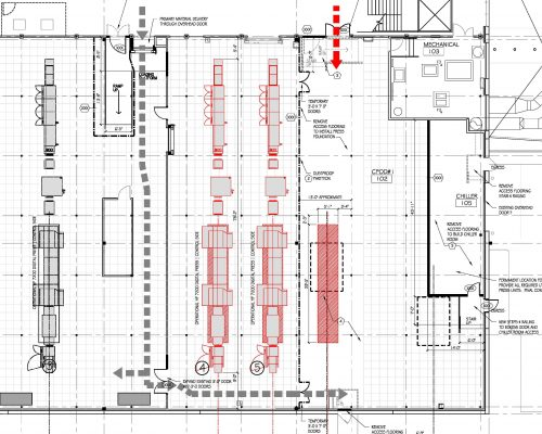 Jeppesen Print Center Plan3 ArcWest Architects