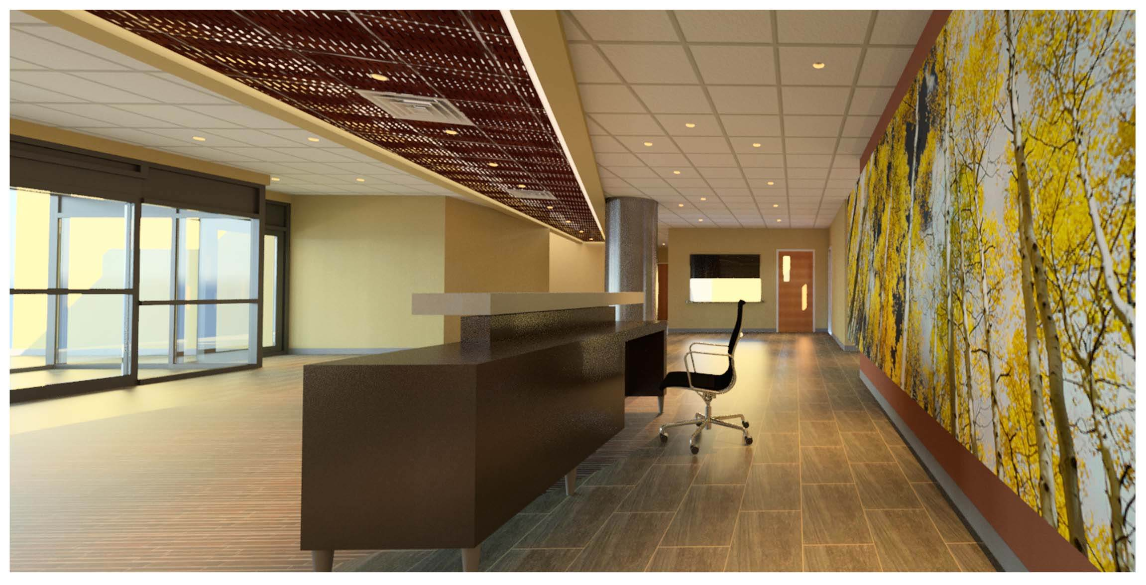 12121 grant st building tenant improvements arcwest for Office design concepts and needs