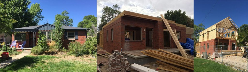ArcWest Architects Residential Addition Pontiac St - Progress