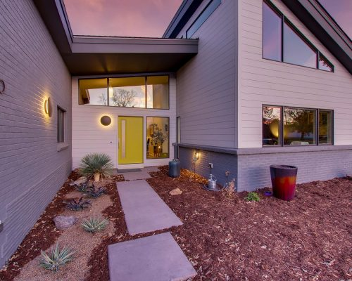 ArcWest Architects - Brentwood St Wheat Ridge-Exterior Front Entry