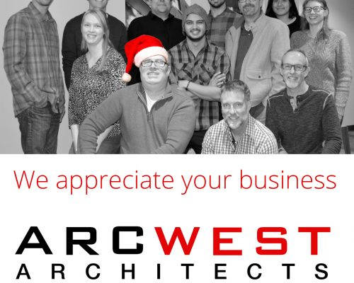 Happy Holidays from ArcWest Architects