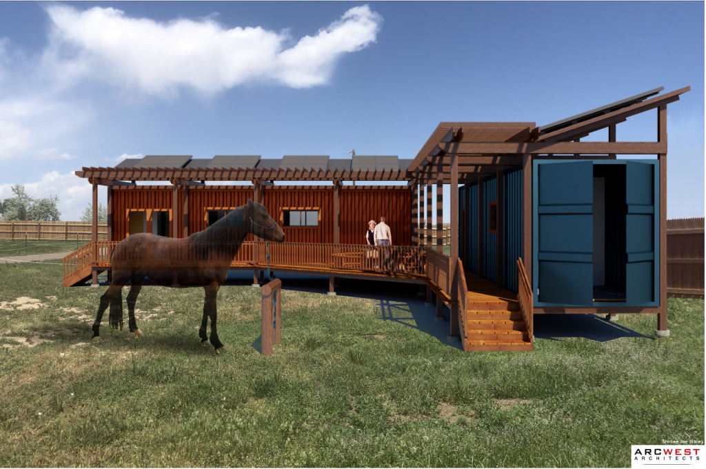 ArcWest Architects Allegiance Ranch Completed Rendering