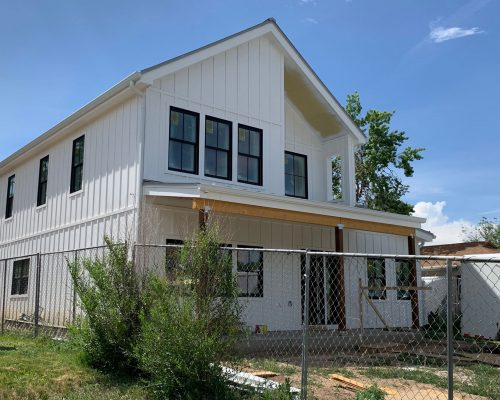 ArcWest-Architects-N-ParkHill-Modern-Farmhouse--process---paint-siding2